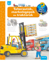 Teherautók, markológépek és traktorok