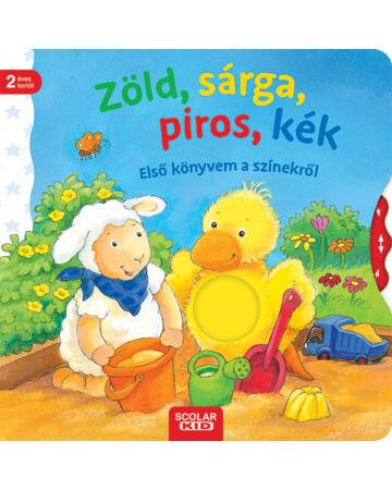 Zöld, sárga, piros, kék – Első könyvem a színekről
