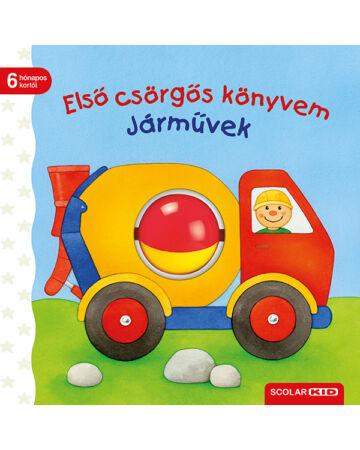 Első csörgős könyvem – Járművek