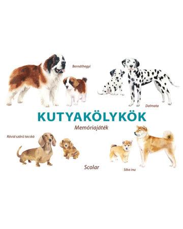 Kutyakölykök – Memóriajáték