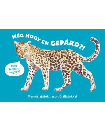 Még hogy én gepárd?! – Memóriajáték hasonló állatokkal