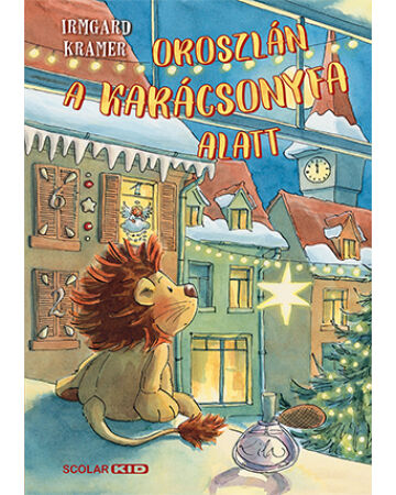 Oroszlán a karácsonyfa alatt
