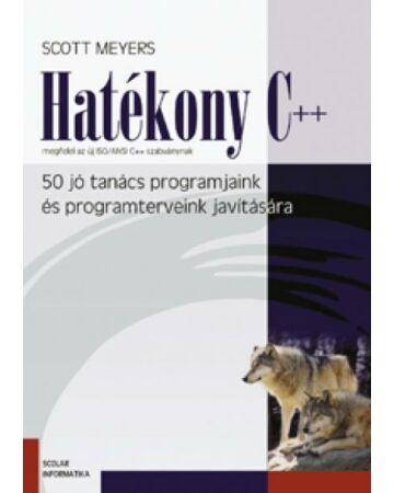 Hatékony C++   50 jó tanács programjaink és programterveink javítására