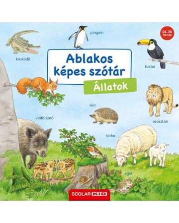 Ablakos képes szótár – Állatok