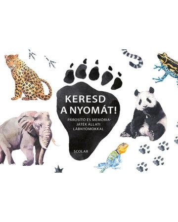 Keresd a nyomát! – Párosító és memóriajáték állati lábnyomokkal