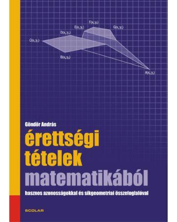 Érettségi tételek matematikából